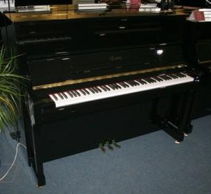 Essex Klavier Modell EUP-123 schwarz poliert