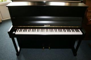 Sauter Klavier Modell 113 K schwarz seidenmatt