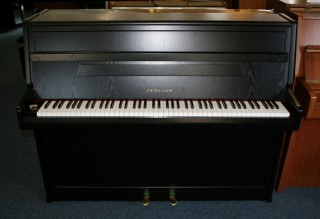 Seiler Klavier Modell Favorit 112 Eiche schwarz