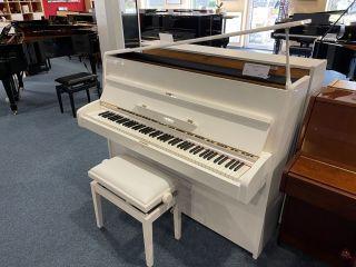 Bechstein Klavier Modell 12n weiß poliert