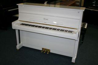 Essex Klavier Modell EUP-116 weiß poliert