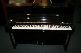 Ibach Klavier Modell B-114 schwarz poliert