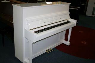Karl Lang Klavier Mod. F-120 weiß poliert
