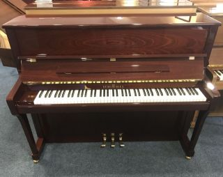 Schimmel Klavier Modell C120T Mahagoni poliert
