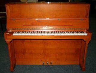 Seiler Klavier Modell 122 Konsole Kirschbaum matt