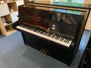 Seiler Klavier Modell Favorit 116 schwarz poliert