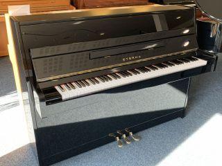 Eterna Klavier Modell ER-C10 schwarz poliert