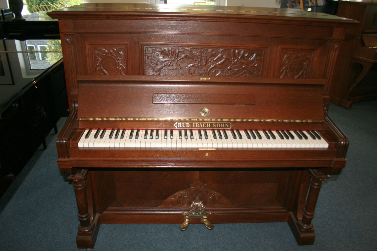 ibach klavier modell 132 antik ebay. Black Bedroom Furniture Sets. Home Design Ideas