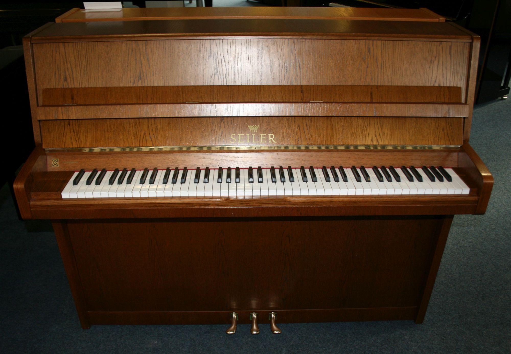 seiler klavier modell favorit 116 ebay. Black Bedroom Furniture Sets. Home Design Ideas